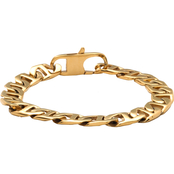 Yellow Ion Plated Stainless Steel Gucci Link Bracelet