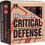Hornady Critical Defense .45 Auto 185 Gr. Flex Tip Hollow Point, 20 Rounds