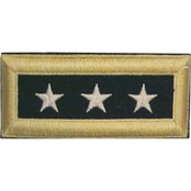 Army LTG Male Shoulder Straps