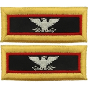 Army COL Adjutant General Female Shoulder Straps