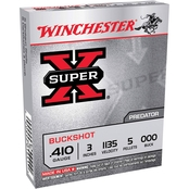 Winchester Super-X .410 Ga. 3 in. 000 Buckshot 5 Pellets, 5 Rounds