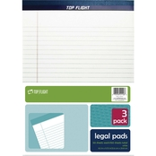 3-Pack White Legal Pad
