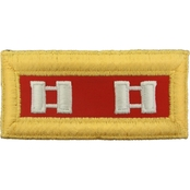 Army CPT Field Artillery Female Shoulder Straps