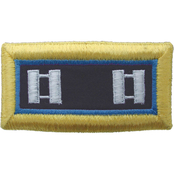 Army CPT Inspector General Female Shoulder Straps