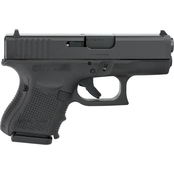 Glock 26 Gen 4 9MM 3.43 in. Barrel 10 Rds 3-Mags Pistol Black