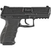 HK P30 9MM 3.85 in. Barrel 15 Rds 2-Mags Pistol Black with Decocker