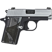 Sig Sauer P238 380 ACP 2.7 in. Barrel 6 Rnd NS Pistol Two Tone with Wood Grips