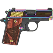 Sig Sauer P238 380 ACP 2.7 in. Barrel 6 Rnd NS Pistol Rainbow