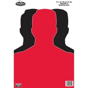 Birchwood Casey Dirty Bird 12 x18 In. Silhouette III Target, 8 Pk.