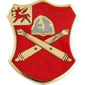 Army 10th Field Artillery (FA) Regiment Unit Crest