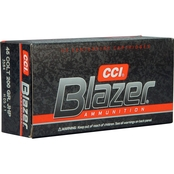 CCI Blazer .45 LC 200 Gr. Jacketed Hollow Point, 50 Rounds