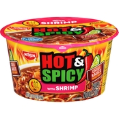 Nissin Hot and Spicy Shrimp Ramen