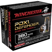 Winchester Supreme Elite .380 ACP 95 Gr. PDX1, 20 Rounds