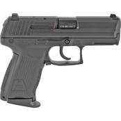 HK P2000 9MM 3.66 in. Barrel 10 Rds 2-Mags Pistol Black with LEM Trigger