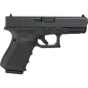 Glock 23 Gen 4 40 S&W 4.02 in. Barrel 10 Rds 3-Mags Pistol Black