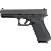 Glock 17 Gen 4 9MM 4.49 in. Barrel 10 Rds 3-Mags Pistol Black