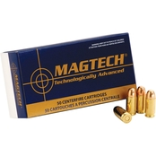 MagTech Sport Shooting 9mm 124 Gr. FMJ, 50 Rounds
