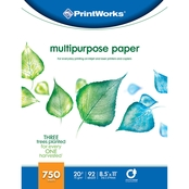 Printworks Professional Multipurpose Paper, 20 lb., 92 Bright, 750 Sheets
