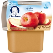 Gerber 2nd Foods Apples 4 Oz. 2 Pk.