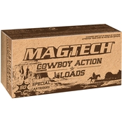 MagTech Sport Shooting .45 LC 250 Gr. Lead Flat Nose, 50 Rounds