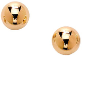 PalmBeach 10k Yellow Gold 6mm Ball Stud Earrings