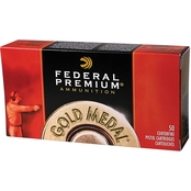 Federal Gold Medal .45 ACP 185 Gr. FMJ, 50 Rounds