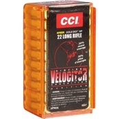 CCI Velocitor .22 LR 40 Gr. Gilded Lead Hollow Point, 50 Rounds