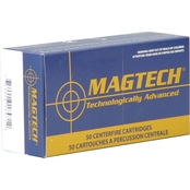 MagTech Sport Shooting .38 Super 130 Gr. Full Metal Case Flat Point +P, 50 Rounds