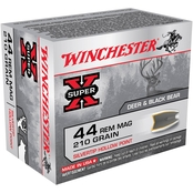 Winchester Super-X .44 Mag 240 Gr. Silvertip Hollow Point, 20 Rounds