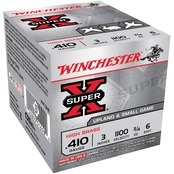 Winchester Super-X .410 Ga. 3 in. #6 Max Dram 0.75 oz., 25 Rounds