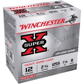 Winchester Super-X 12 Ga. 2.75 in. #8 3.25 Dram 1 oz. Shotshell, 25 Rounds