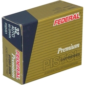 Federal Hydra-Shok .32 ACP 65 Gr. Hollow Point, 20 Rounds