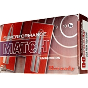 Hornady Superformance .223 Rem 75 Gr. Boat Tail Hollow Point Match, 20 Rounds