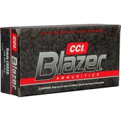 CCI Blazer 9mm 124 Gr. FMJ, 50 Rounds