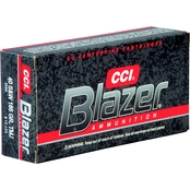 CCI Blazer .40 S&W 165 Gr. Total Metal Jacket, 50 Rounds