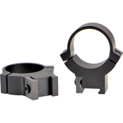 Warne Scope Mounts 7.3 Series Permanent 1 in. High Rings 2 pk.