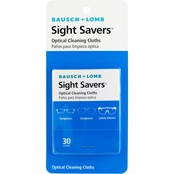 Bausch & Lomb Sight Savers Optical Cleaning Cloths, 2 Packs of 30 Each