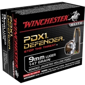 Winchester Supreme Elite 9mm 147 Gr. PDX1, 20 Rounds