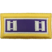 Army CPT Civil Affairs Female Shoulder Straps