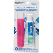 Dental Source Travel Toothbrush & Toothpaste 2 Pc. Kit