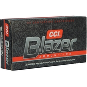 CCI Blazer .380 ACP 95 Gr. Total Metal Jacket, 50 Rounds