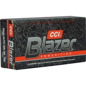 CCI Blazer 10mm 200 Gr. Total Metal Jacket, 50 Rounds