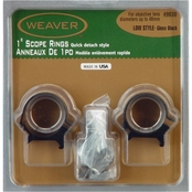 Weaver Top Mount 1 In. Low Rings