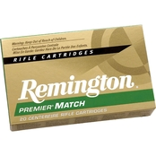 Remington Premier Match .308 Win 175 Gr. Hollow Point, 20 Rounds