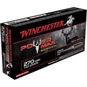 Winchester Super-X .270 Win 130 Gr. Power Max Bonded, 20 Rounds