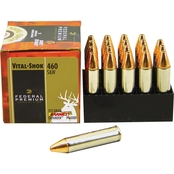 Federal Vital-Shok .460 S&W 275 Gr. Barnes Expander Lead Free, 20 Rounds