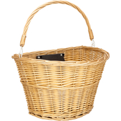 Schwinn Wicker Basket with Quick Release Mounting Bracket