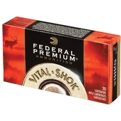 Federal TNT Green .22-250 43 Gr. Hollow Point Lead Free, 20 Rounds