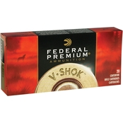 Federal Vital-Shok .270 Win 130 Gr. Nosler Partition, 20 Rounds