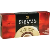 Federal Vital-Shok .30-06 165 Gr. Nosler Partition, 20 Rounds